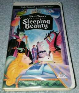 Sleeping-Beauty-VHS-1997-Limited-Edition-vintage-Disney