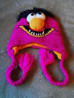 Muppet Disney 3d Animal Knit Fleece Ski Hat Beanie Cap Winter Teen Adult