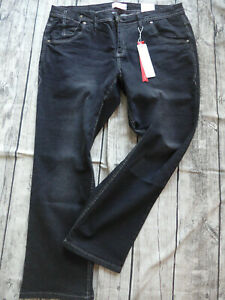 Sheego-Jeans-Trousers-Stretch-Ladies-Size-44-to-58-Lana-Black-692