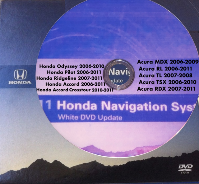 Acura/Honda Navigation 2011 Update, Duplicate Reproduction