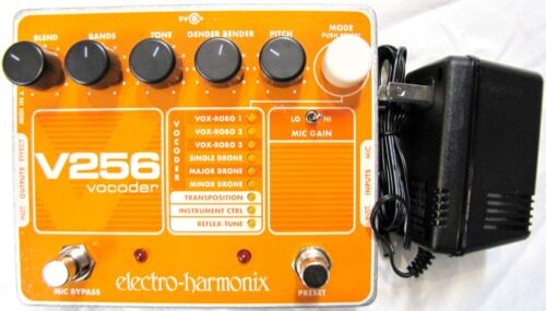 Used Electro-Harmonix EHX V256 Vocoder Vocal Microphone Mic Guitar Effect Pedal