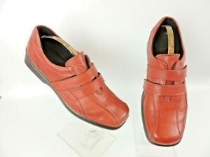 FLYFLOT-RED-LEATHER-SHOES-UK-SIZE-7-EU40