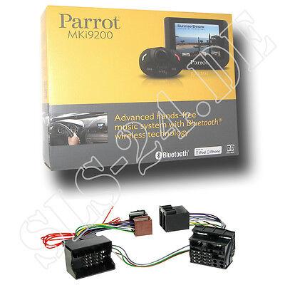 Parrot MKi9200 Freisprechanlage + Opel Astra Corsa 16Pin ab04 FSE Radio Adapter
