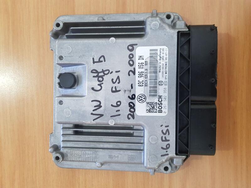 VW Golf 5 1.6 FSI 2006-2009 Bosch ECU part#03C 906 056 DN