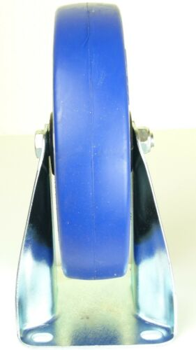 8er Set 200 mm SL Bockrollen Blue Wheel Rollen Schwerlastrollen Transportrollen