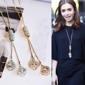 Luxury-Cubic-Zircon-Necklace-Sweater-Chain-Tassel-Long-Necklaces-Women-Accessory