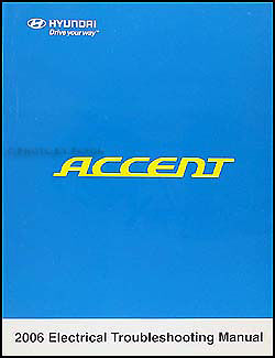 [FPER_4992]  2006 Hyundai Accent Electrical Troubleshooting Manual Wiring Diagram Book  OEM | eBay | 2006 Hyundai Accent Wiring Schematic |  | eBay