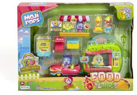 Magicbox mojipops I Love Food Truck Playset