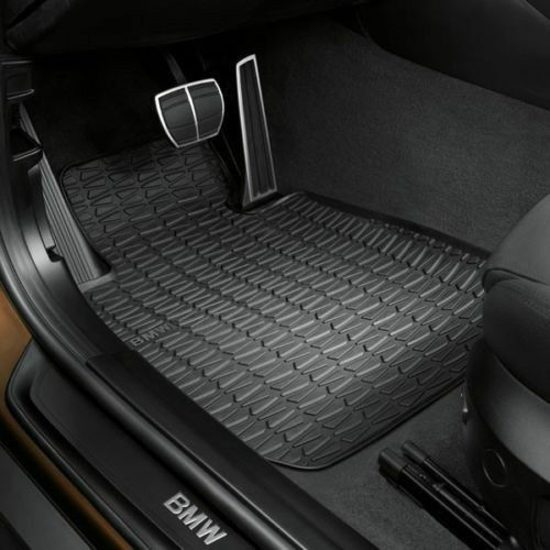 BMW 51472336797 All-Weather Floor Mats for E84 X1 Set of 2 Front Mats