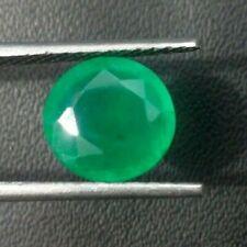 Natural Zambian Emerald 1.5MM to 5MM Eye Clean AAA Quality Round Cut Gemstone