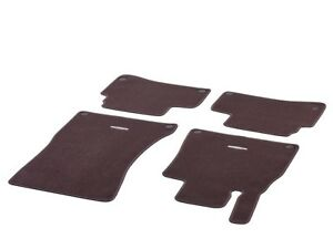 Mercedes-Benz-Original-Velour-Floor-Mats-V222-S-Class-RHD-Long-Mahogany-NIP