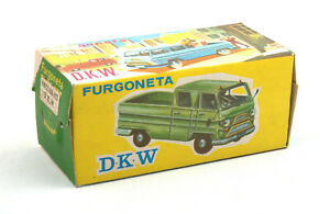 Comando-Spain-Furgoneta-D-K-W-Pick-Up-No-423-Empty-Box-Only
