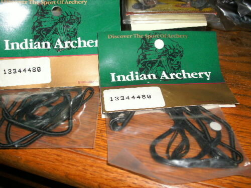 """Archery Bowhunting 2 Turkey Crossbows Indian Archery 41/"""" Bow Strings Deer"""