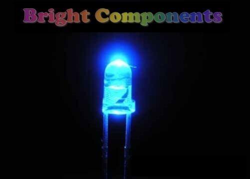 10 x LED BLU 3mm-Ultra Bright 1st Class Post
