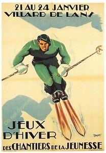Postcard Ads Advertising Villard de Lans Edit Clouet T17