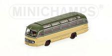 Mercedes Bus O321H 1957 Green & Cream 1:160 Model MINICHAMPS