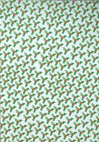 2 x A4 simple face HOLLY /& BAIES à Motifs Papier dorsal 100gsm nouveau
