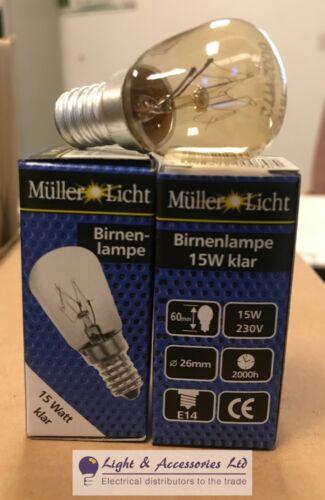 5 x qualité claire 15 W 15 W SES PYGMY Signe Lampe Ampoule 230 V E14 2000 h