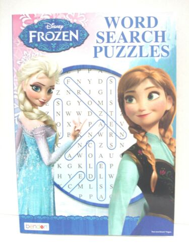 Disney Frozen Word Search - Word Find Puzzles - Elsa and Anna New