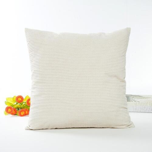 Useful Sofa Bed Car Office Festival Corduroy Pillow Case Cushion Cover Decor