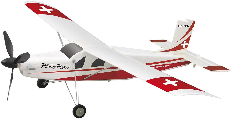 Jamara 007285 - RC PC-6 Pilatus RTF 2,4 GHz Fernsteuerung Ladegerät