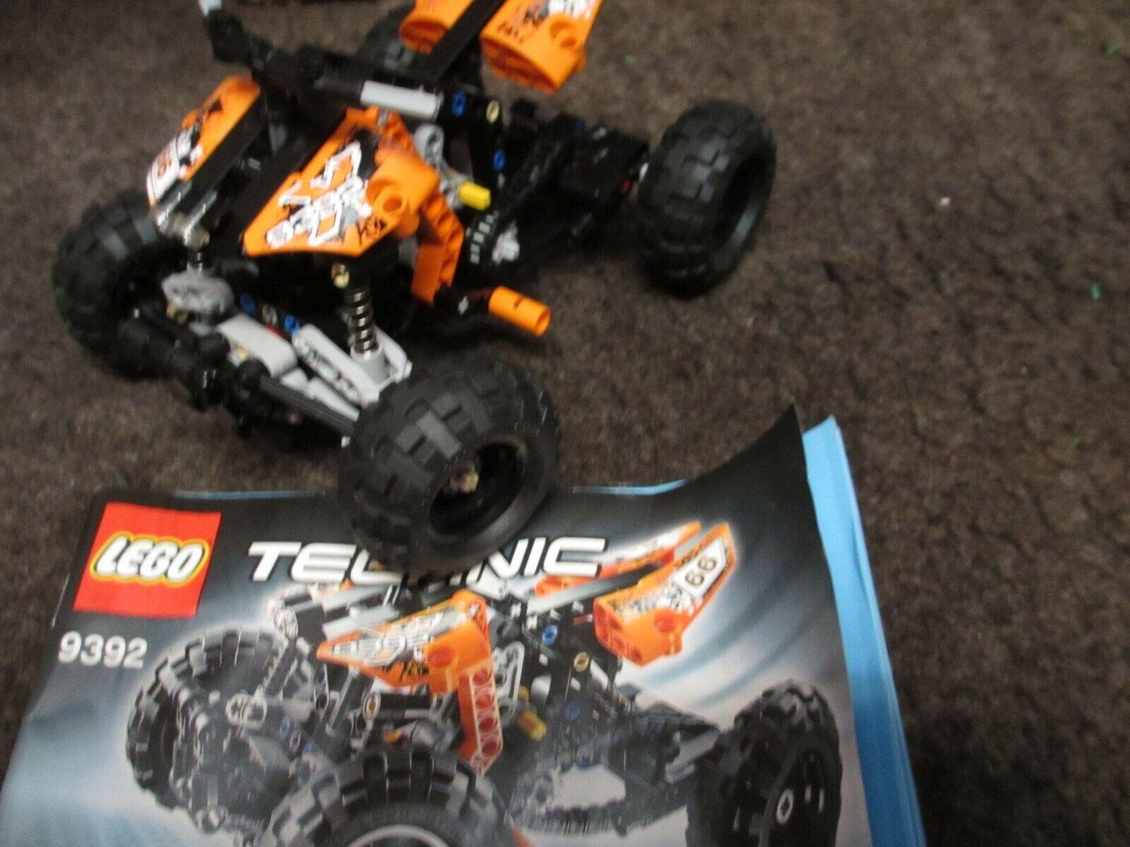 LEGO CITY 7746 und LEGO TECHNIK TECHNIK TECHNIK 9392 gebraucht  gut erhalten. 031e59