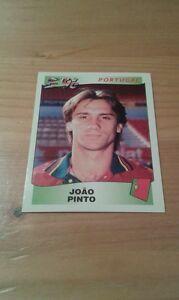 N°310 JOAO PINTO # PORTUGAL PANINI EURO 96 ORIGINAL 1996