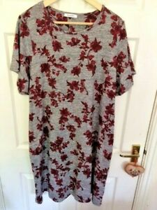 Marks-and-Spencer-Classic-Size-20R-Grey-Dress-Tunic-Excellent-Condition