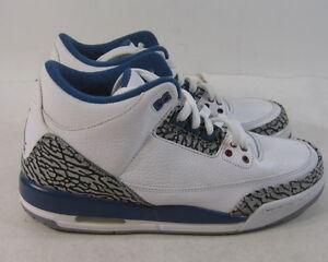 13e7e1ebfd18 2011 Air Jordan 3 Retro (GS) True Blue 2011 Release 398614 104 Size ...