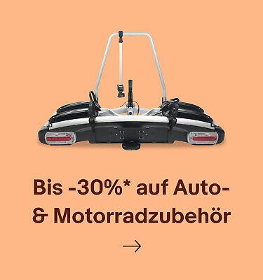 Bis -30%* auf Auto- & Motorradzubehör