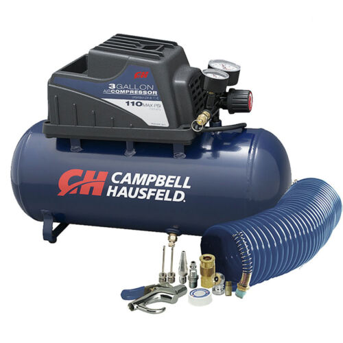 Inflation /& Fastening Compressor FP209499AV New Campbell Hausfeld 3-Gal