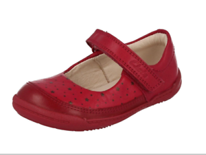 Uk 5 Ida 5h Taille Chaussure rose Clarks Cuir Softly Berry en Filles Nouveau BwPqnfv4x