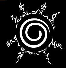 "Naruto Nine Tail Fox Seal Formulation ""八卦の封印式 ""  Decal Sticker"