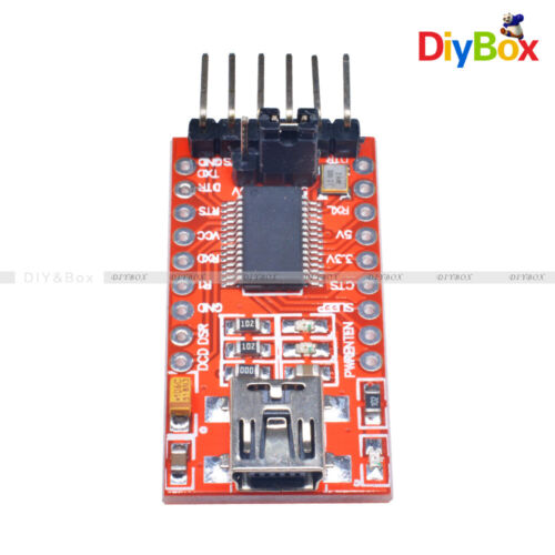 FT232RL 3.3V 5.5V FTDI Serials Adapter Module Mini USB Port f Arduino to TTL D