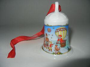 KPM de Noël cloche porcelaine 1985 première édition-correctement reçu!
