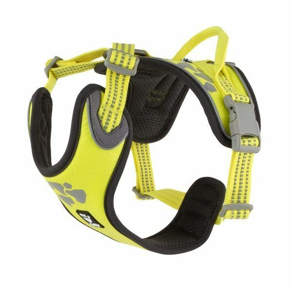 Hurtta Weekend Warrior Harness Neon Lemon 100-120cm - 933443