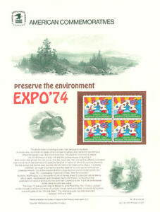 29-10c-Peter-Max-EXPO-74-1527-USPS-Commemorative-Stamp-Panel