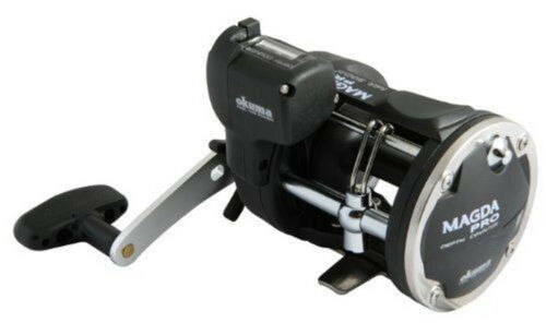 Okuma Magda Pro MA 30DX Line Counter Trolling Reel NEW