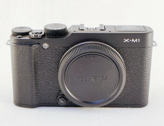 Fujifilm X Series X-M1 16.3MP Digital Camera - Black (Body Only)