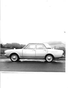 """""""moteur"""" 1968 Ford Cortina Mark Ii Essai Routier Press Photo Brochure Connecté-afficher Le Titre D'origine"""
