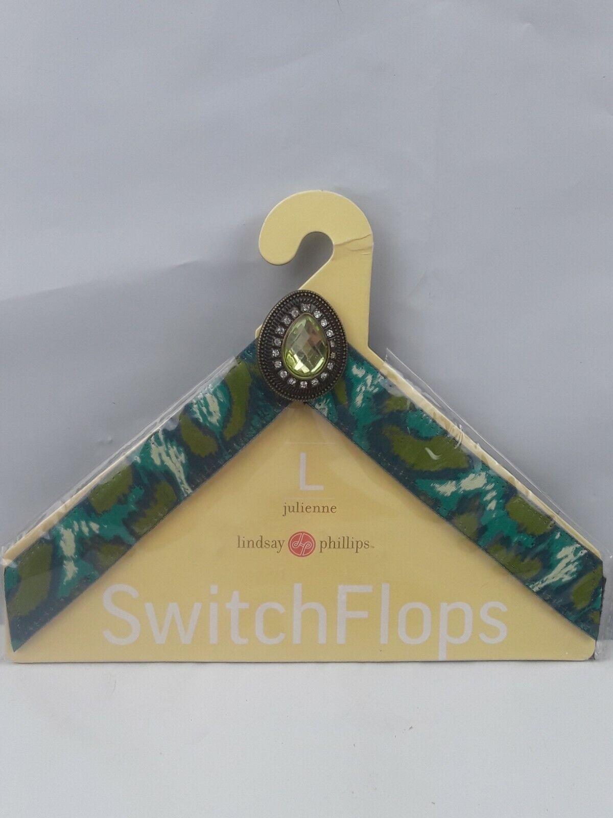 Lindsay Phillips Switchflops Straps large US size 9- 10- 11