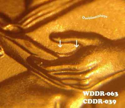 2009 P Lincoln Cent FY WDDR-028 FormativeYears Doubled Die Reverse Error