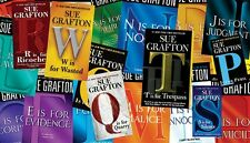 Kinsey Millhone Series by Sue Grafton Audiobooks Collection 1-24 Mp3 DVD