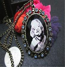 Vintage Retro Antique Style Marilyn Monroe Necklace