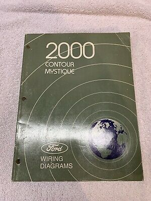 ford contour wiring diagram 2000 ford contour mercury mystique wiring diagrams electrical t  2000 ford contour mercury mystique