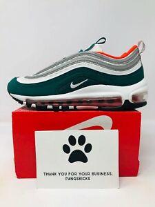 carbón Giro de vuelta Hasta aquí  Nike Air Max 97 'Miami Dolphins' 921522-300 GS Size 3.5Y-4.5Y | eBay