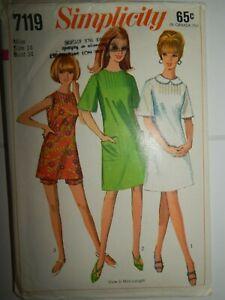Dress Shorts Sewing Pattern 7119 Cut Size 14 NO INSTRUCTIONS Simplicity Vtg