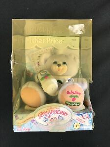 Vintage-2000-FISHER-PRICE-Briarberry-Collection-BABY-JOEY-Bear