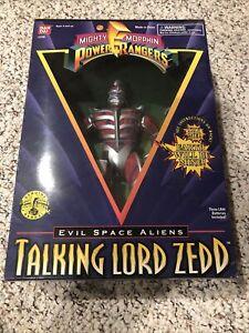1995 Talking Power Rangers Lord Zedd Evil Space Aliens Bandai. Damaged Box NRFB