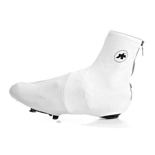 Assos S7 Uno Thermo Cycling Bootie Overshoes White Size 0 RRP 73.99